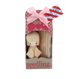 Seedling - Draw Me Kokeshi Doll Craft Kit