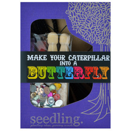 Seedling - Make Your Own Caterpillar Into A Butterfly Activity Kit