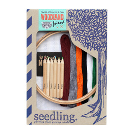 Seedling Cross Stitch Your Own Woodland Friend