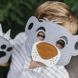 Seedling Disney The Jungle Book|Design Your Own Bear Mask & Paws