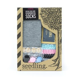 Seedling - Design Your Own Fashionista Socks