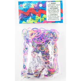 Rainbow Loom Bands - Assorted Tie Dye