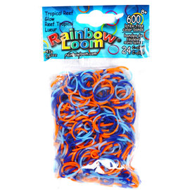 Rainbow Loom Bands - Tropical Reef Glow