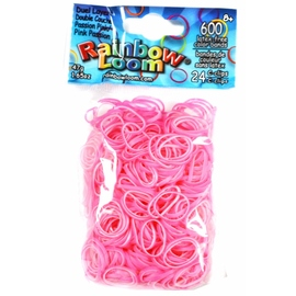 Rainbow Loom Bands Dual Layer - Passion Pink
