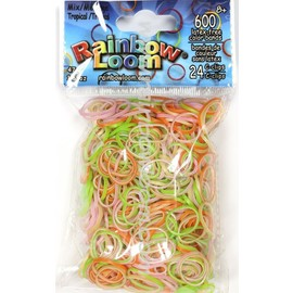 Rainbow Loom Bands - Tropical Mix