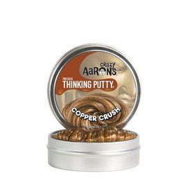 Crazy Aarons Thinking Putty|Copper Crush - Precious Metal