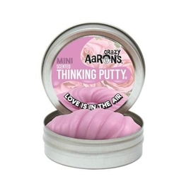 Crazy Aarons Thinking Putty|Love Is In The Air - Rose Scented Putty Mini Tin