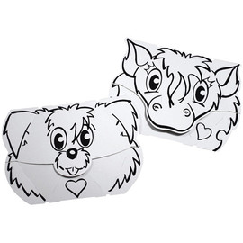 Calafant Calalinos Mask Set - Dog + Pony Masks