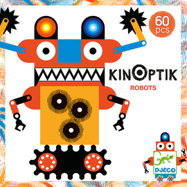 Djeco Robots Kinoptik Construction Set