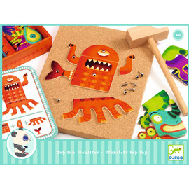 Djeco Tap Tap Monsters Play Set