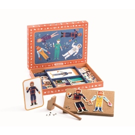 Djeco Tap Tap Professions Play Set