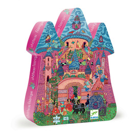 Djeco The Fairy Castle 54pc Jigsaw Puzzle