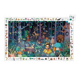 Djeco Enchanted Forest Observation Jigsaw Puzzle 100pc