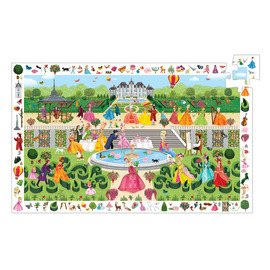 Djeco Garden Party Observation Jigsaw Puzzle 100pc