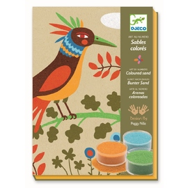 Djeco Bird Paradise Coloured Sand Art Kit