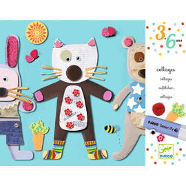 Djeco Collages For Little Ones