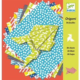 Djeco Origami Papers - 100 pack