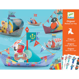 Djeco Boats On The Water Origami Kit