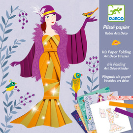 Djeco Iris Paper Folding Art Deco Dresses
