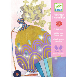 Djeco So Pretty Foil Art Pictures Craft Kit