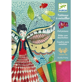 Djeco Fireflies Foil Art Craft Kit
