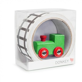 Donkey Products Tape Gallery - My First Train Tape (25M)