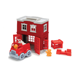 Green Toys - Fire Station Playset Eco Toy