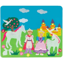Felt Creations - Princess Castle Felt Story Board