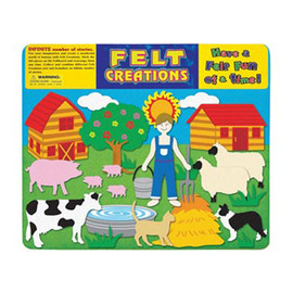 Felt Creations - Farm Felt Story Board