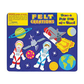 Felt Creations - Outer Space Felt Board