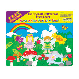 Felt Creations - Flower Fairy Felt Story Board