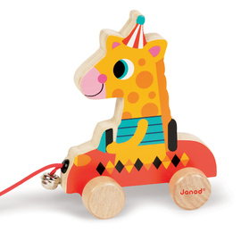 Janod Circus Pull Along Wooden Toys