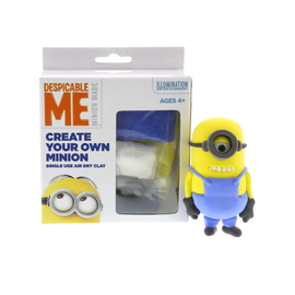 Create Your Own Minion Air Dry Clay Model