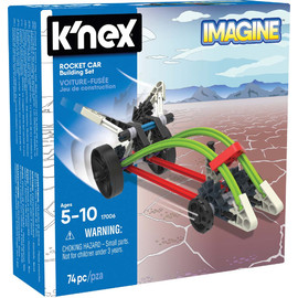 K'NEX Imagine|Rocket Car Building Set