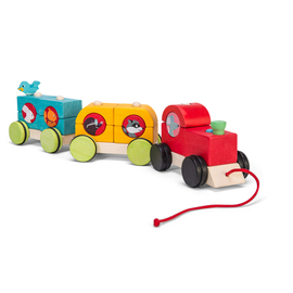 Le Toy Van Petilou Woodland Express Stacking Train