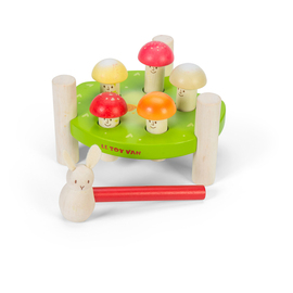 Le Toy Van Petilou Mr Mushroom Hammer Peg Game