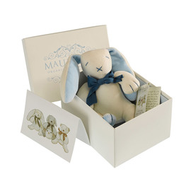 Maud N Lil Organic Cotton Baby Toy - Oscar The Bunny (Gift Boxed)