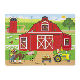 Melissa & Doug - Around The Farm Sound Puzzle 8pc