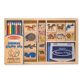 Melissa & Doug - Animals Rubber Stamp Set