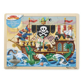 Melissa & Doug - Pirate Adventure 48pc Jigsaw Puzzle