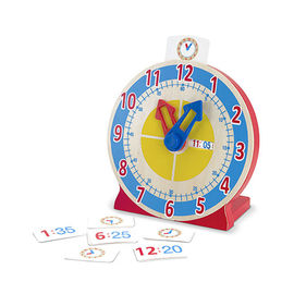 Melissa & Doug - Turn & Tell Wooden Clock