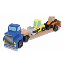 Melissa & Doug - Wooden Low Loader