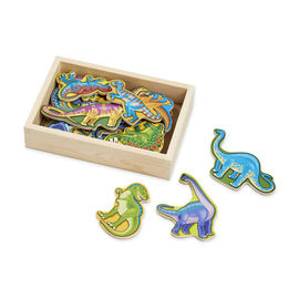 Melissa & Doug - Wooden Dinosaur Magnets 20 Piece Set