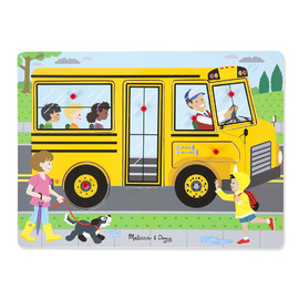 Melissa & Doug - The Wheels On The Bus Sound Puzzle 8pc