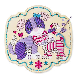 Melissa & Doug Embroidery Made Easy - Puppy & Kitten