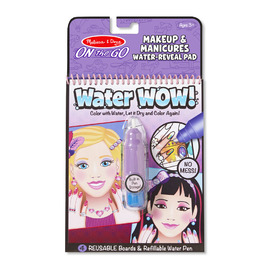 Melissa & Doug- On The Go- Water WOW!-Makeup & Manicure