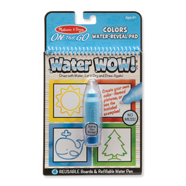 Melissa & Doug - On The Go Water WOW! Colours & Shapes