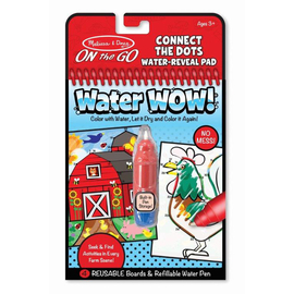 Melissa & Doug- On The Go-Water WOW! - Connect The Dots