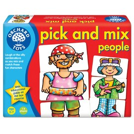 Orchard Toys - Pick n Mix People Game