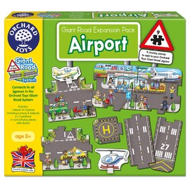 Orchard Toys - Giant Town & Road Expansion Pack|Airport